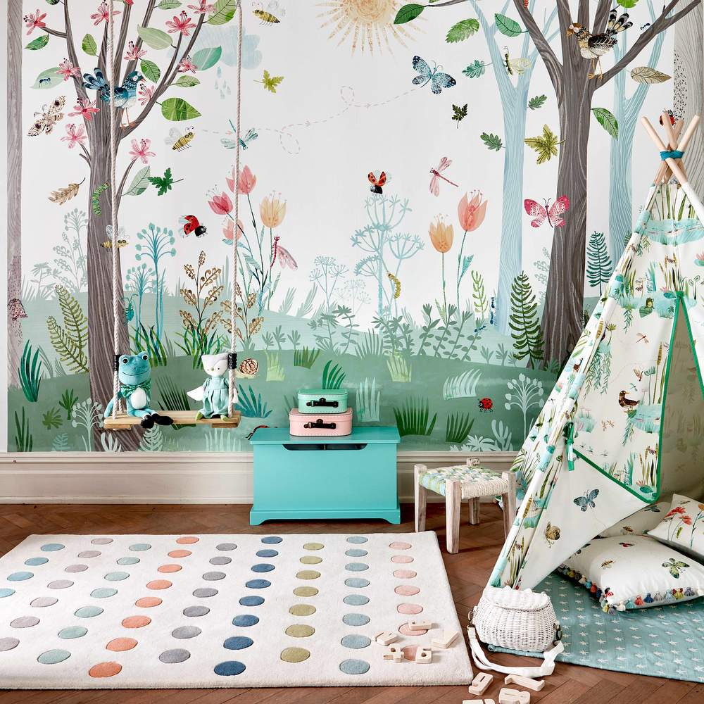 Kinderzimmer Wald
